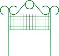 Заборчик садово-парковый «Классический» 0,75 м х 4,5 м