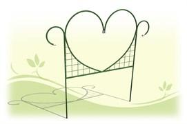 Заборчик садово-парковый «Сердце» 0,87 м х 4.5 м