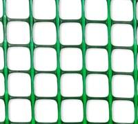 Сетка-решетка садовая Ф-20/1/10, ячейка 20x20мм, пластиковая, хаки и зеленая, рулон 1x10м