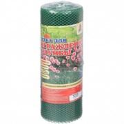 Сетка-решетка садовая Ф-7/0.4/10, ячейка 7x7мм, пластиковая, зеленая, рулон 0.4x10м