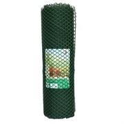 Сетка садовая для беседок Ф-16/1.2/10, ячейка 16x16мм, пластиковая, зеленая, рулон 1.2x10м