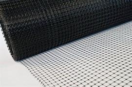 Сетка кладочная С-5/0.5/100, ячейка 5x5мм, пластиковая, черная, рулон 0.5x100м, на метраж