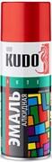 Краска-эмаль аэрозольная KU-1004 универсальная, алкидная, глянцевая, вишневая, 520мл