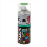 Краска-эмаль аэрозольная KU-10088 универсальная, алкидная, глянцевая, салатовая, 520мл