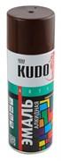 Краска-эмаль аэрозольная KU-1012 универсальная, алкидная, глянцевая, коричневая, 520мл