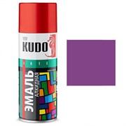 Краска-эмаль аэрозольная KU-1015 универсальная, алкидная, глянцевая, фиолетовая, 520мл