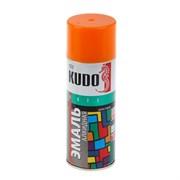 Краска-эмаль аэрозольная KU-1019 универсальная, алкидная, глянцевая, оранжевая, 520мл