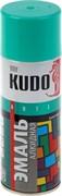 Краска-эмаль аэрозольная KU-1020 универсальная, алкидная, глянцевая, бирюзовая, 520мл