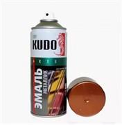 Краска-эмаль аэрозольная KU-1030 универсальная, акриловая, металлик медь, 520мл