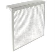 Экран-отражатель навесной декоративный, 600x480x140мм, 5 секций, металлический, белый