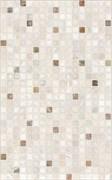 Плитка настенная керамическая облицовочная Нео Мозаика 122861, 25x40мм, глянцевая, светло-коричневая