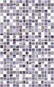 Плитка настенная керамическая облицовочная Нео Мозаика 122882, 25x40мм, глянцевая, средне-фиолетовая