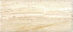 Плитка настенная керамическая облицовочная Легенда 136761, 20x45мм, глянцевая, бежевая