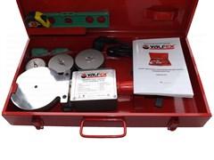Аппарат сварочный для полипропиленовых труб и фитингов VALFEX CM-04 SET, 1000+1000Вт, комплект
