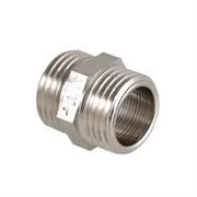 Фитинг резьбовой  - ниппель Valtec, 20мм (3/4 дюйма), наружный-наружный