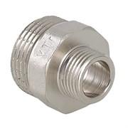 Фитинг резьбовой  - ниппель переходной Valtec, 25x20мм (1х3/4 дюйм), наружная-наружная