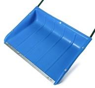 Движок-скрепер снеговой 750x550x1200мм, пластиковый, с ручкой