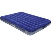Кровать надувная (матрац) Classic Downy Intex, 220x1520x2030мм, 2-местная, винил/флок, максимальная нагрузка 273кг