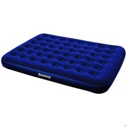 Кровать надувная (матрац) Queen Bestway 67003N, 220x1520x2030мм, 2-местная, флок/ПВХ, максимальная нагрузка 215кг
