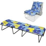 Кровать-кресло раскладная (раскладушка)Olsa Лира С210, 395x650x1950мм, с матрацем, максимальная нагрузка 120кг