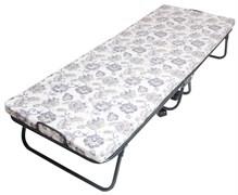 Кровать-тумба раскладная (раскладушка) Olsa Юлия C5Л, 397x700x1900мм, на пружинной сетке, с матрацем, максимальная нагрузка 100кг