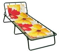 Кровать раскладная детская (раскладушка) Юниор С89, 240x640x1520, металлическая на тканевой основе, без матраца, максимальная нагрузка 60кг