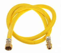 Подводка гибкая - шланг газовый TUBOFLEX, 2.5м, внутренняя-наружная, желтый, в упаковке