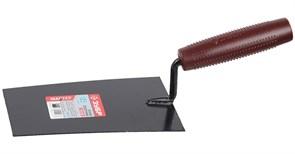 Кельма/мастерок отделочника ЗУБР Мастер, 185мм, форма трапеция, пластиковая ручка, КО