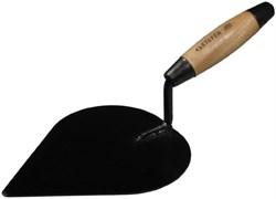 Кельма/мастерок штукатура STAYER, 185мм, форма сердце, деревянная ручка, КШ