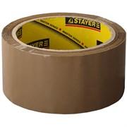 Лента клейкая (скотч) STAYER, 38ммx60м, упаковочная, коричневая