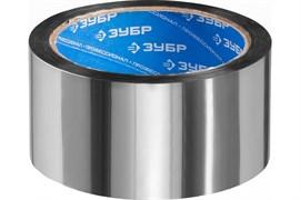 Лента клеящая (скотч, фольга) ЗУБР Эксперт металлизированная, 50ммx25м, термостойкая