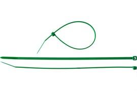 Хомут/стяжка ЗУБР универсальный, тип 7, 3.6x200мм, нейлоновый, зеленый, упаковка 100шт