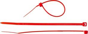 Хомут/стяжка ЗУБР универсальный, тип 7, 2.5x150мм, нейлоновый, красный, упаковка 100шт