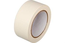 Лента малярная (скотч) 50ммx40м, бумажная, клейкая, белая