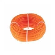 Леска строительная, 1ммx100м, оранжевая