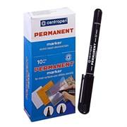 Маркер Centropen перманентный, 2846, 1мм, черный