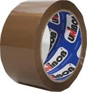 Лента клейкая (скотч) упаковочная UNIBOB, 48ммx66м, коричневый
