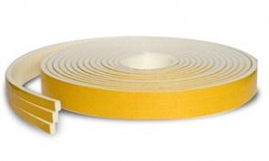 Утеплитель (уплотнитель) Теплоскотч Экстра, 8x8ммx9м, самоклеящийся, односторонний, с защитной пленкой, белый