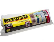 Пленка STAYER укрывная защитная, 2x50м, 12мкм, полиэтиленовая, рулон
