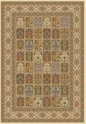 Ковёр коллекции BUHARA D145, 1.2x1.7м STAN-CREAM, прямоугольный, кремовый с абстрактым рисунком