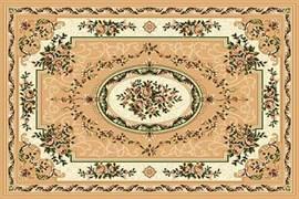 Ковёр коллекции LAGUNA 5444, 1x2м STAN-BEIGE, прямоугольный, бежевый с рисунком