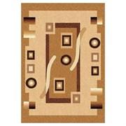 Ковёр коллекции LAGUNA d043 1.5x1.9м STAN-BEIGE, прямоугольный, бежевый с рисунком