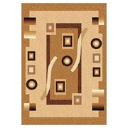 Ковёр коллекции LAGUNA d043 1x2м STAN-BEIGE, прямоугольный, бежевый с рисунком