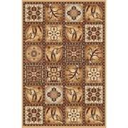 Ковёр коллекции LAGUNA d494 1x2м STAN- BEIGE, прямоугольный, бежевый с рисунком