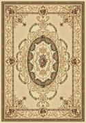 Ковёр коллекции OLYMPOS d058 1.5*2.3м STAN-CREAM, прямоугольный, кремовый с рисунком