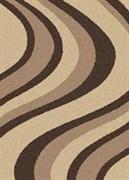 Ковёр коллекции PLATINUM t617 2x3м OVAL-BEIGE, овальный, бежевый с рисунком