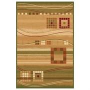 Ковёр коллекции SAN REMO d080 1.2x2м STAN-GREEN, прямоугольный, зеленый с рисунком