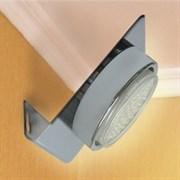 Светильный настенный Ecola GX53-N82,  52х130х111мм, угловой, хром, FC5382ECB