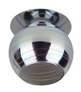 Светильник встраиваемый ЭРА декор DK88-1, 3D горизонт, G9, 220V, 35W, серебро-мультиколор
