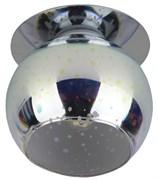 Светильник встраиваемый ЭРА декор DK88-3, 3D звездный дождь, G9, 220V, 35W, серебро-мультиколор